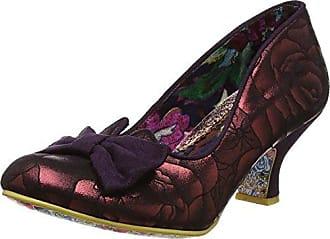 Ban Joe, Zapatos de Tacón Mujer, Rojo (Red Floral), 38 EU (5 UK) Irregular Choice