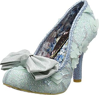 3801-68, Escarpins Bout fermé Femme (Gold B), 40Irregular Choice