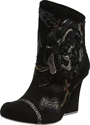 Pearl Necture Botines Mujer, Black (Black New), 42 EU (8 UK) Irregular Choice