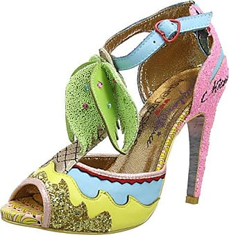 Womens Banana Boat Blau Ballerinas 43 Irregular Choice npeslyNtRf