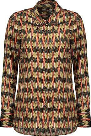 2018 Unisex Cheap Sale 2018 New Isabel Marant Woman Tyron Embroidered Printed Silk-satin Blouse Blue Size 44 Isabel Marant From China Sale Best Sale Pre Order Cheap Online Ae3adt
