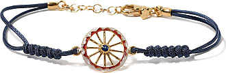 Bracelet for Women, Blue, Silver 925 Galvanized Gold, 2017, One Size Isola Bella Gioielli