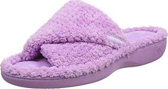 Isotoner Damen Ladies Pillowstep Mule Pantoffeln, Pink (Pink PNK), 38 EU