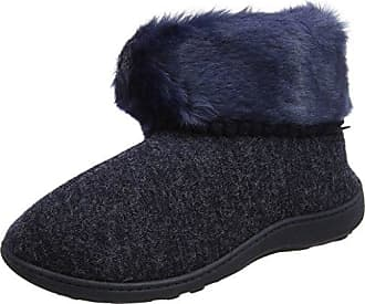 Aconca Natural Wool Slipper Booties - Chaussons à Doublure Chaude - Femme - Vert - 38 EU (5 UK)Woolsies SrUg2N2