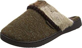 Ladies PV Fur Slider Slipper, Mules Femme - Noir (Black BLK), 38 EU (5 UK)Isotoner
