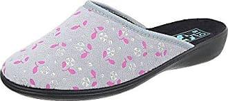 Ital-Design Hausschuhe Damen-Schuhe Pantoffeln Pantoffel Freizeitschuhe Schwarz, Gr 38, 22278-