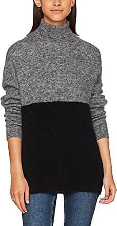 J Lindeberg Myrna Fine Mohair, Pull Femme, (DK Grey Mel 9166), 40 (Taille Fabricant:Medium)