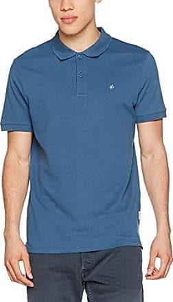 Jack & Jones Jorperfecto SS, Polo Homme, Bleu (Ensign Blue Fit:reg) Small