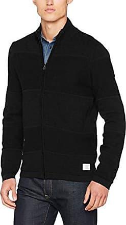 JCOJO Knit Cardigan-Chaqueta Hombre Negro Small Jack & Jones aTM5P