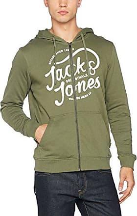 Jjvjerry Ma1 Jacket, Chaqueta de Bombardero para Hombre, Verde (Sea Turtle Sea Turtle), Large Jack & Jones