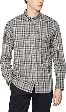 13709214066, Chemise Casual Homme, Blanc (White 0100), Ss.Oliver