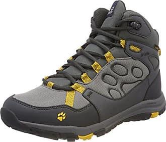 Jack Wolfskin MTN Attack 5 Texapore Mid W Wasserdicht, Chaussures de Randonnée Hautes Femme, Gris (Grey Haze), 42 EU