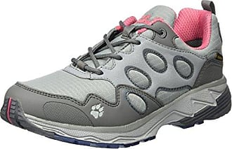Mtn Storm Texapore W, Zapatos de Low Rise Senderismo para Mujer, Beige (Racing Red 2051), 40.5 EU Jack Wolfskin