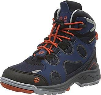 Jack Wolfskin Snow Diver Texapore, Chaussures de Randonnée Hautes Garçon, Bleu (Vibrant Blue 1615), 30 EU