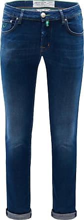 Pantalon En Coton Bleu Marine Slim Fit Confort Pw688 Jacob Cohen 4dJisEy