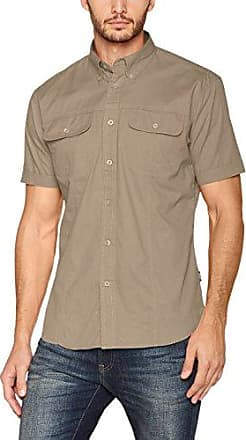 Ladies Avalon Short Sleeved Shirt, Chemise Business Homme, Green (Stone), X-SmallJames Harvest