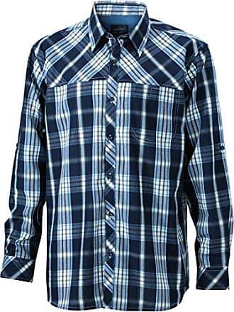Mens UV-Protect Trekking Shirt Long-Sleeved, T-Shirt de Sport Homme, Grün (Green/Acid-Yellow Green/Acid-Yellow), LJames & Nicholson