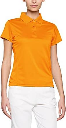 Classic Womens Marion, Polo Femme, Orange (Blood Orange) - 42 EU (Taille Fabricant:X-Large)Clique