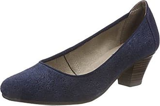 Jane Klain 224 034, Zapatos de Tacón con Punta Cerrada para Mujer, Azul (Navy), 36 EU