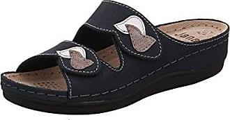 Jana Da-Pantolette Größe 40 Blau (Navy) YuEvk