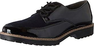 Jane Klain 232 084, Zapatos de Cordones Derby para Mujer, Azul (Navy 832), 38 EU
