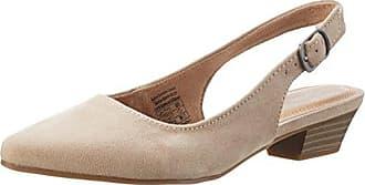 HIRSCHKOGEL 3004509, Zapatos de Tacón con Punta Cerrada para Mujer, Beige (Taupe 066), 42 EU