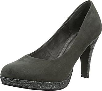 Ecco Shape 45 Pointy Sleek, Zapatos de Tacón para Mujer, Gris (Titanium/Black), 41 EU Ecco