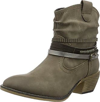 Jane Klain Damen Stiefelette Cowboy Stiefel, Schwarz (000 Black), 38 EU