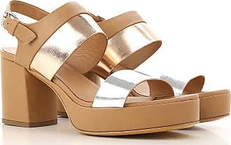 Sandals for Women On Sale, Beige, Leather, 2017, 4.5 Janet & Janet