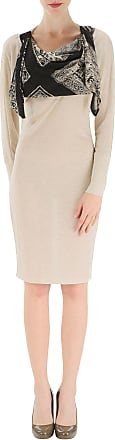 Dress for Women, Evening Cocktail Party On Sale, Beige, Rayon, 2017, 10 8 Jean Paul Gaultier
