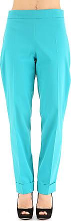 Pantalons Pour Les Femmes En Vente, Turquoise, Coton, 2017, 26 28 Jean Paul Gaultier