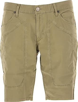 Shorts para Hombre, Pantalones Cortos Baratos en Rebajas, Militar, Algodon, 2017, 47 48 49 50 52 54 56 Jeckerson