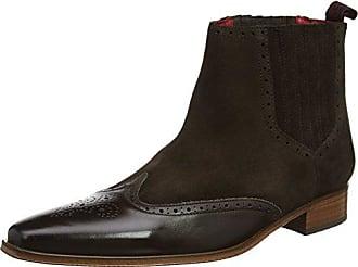 Jeffery West K106, Zapatos de Cordones Oxford para Hombre, Red (Burgundy Burgundy), 40 EU