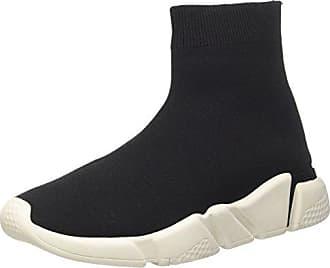 Jeffrey Campbell Jagger 2 Velvet, Zapatos de Cordones Brogue para Mujer, Negro (Nero), 37 EU