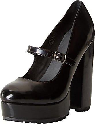 Adanna Crushed, Zapatos de Tacón con Punta Cerrada para Mujer, Negro (Black 001), 40 EU Jeffrey Campbell