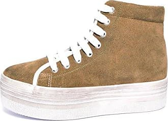 016EK1W033, Gwen Fuzzy LU, Damen Sneakers, beige(280) (40, beige) Esprit