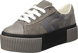 Jcpzomgvelvet - Sneakers Basses - Femme - Noir (Velvet Black/White/Sole) - 37Jeffrey Campbell zjpIsipdR