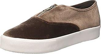 Jcpzomgvelvet - Sneakers Basses - Femme - Noir (Velvet Black/White/Sole) - 37Jeffrey Campbell nJ9V7