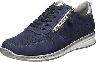 Glendale-St, Sneaker a Collo Alto Donna, Grau (Schwarz,Titan), 41 EU Jenny