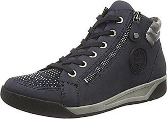 Seattle, Zapatillas Altas para Mujer, Azul (Navy,Jeans/Titan 12), 38.5 EU Jenny
