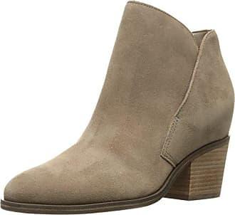 Damen Stiefeletten Ankle Boots Booties Suede Leder ES30790 (36, Grau (Taupe)) Buffalo