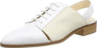 Jil Sander Iconic, Mocassins Femme, Blanc (Bianco 101), 37.5 EU