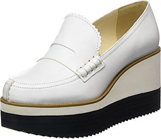 Iconic, Derbys Femme, Blanc (White Transparent 120), 40.5 EUJil Sander