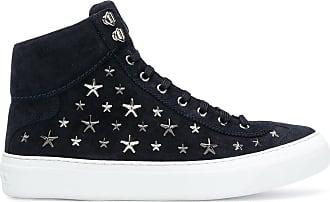 Bruno hi-top sneakers - Blue Jimmy Choo London Y6SHxzXu
