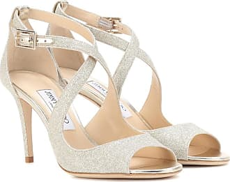 Sandales En Daim Carrie 85 - NeutreJimmy Choo London FYYoR