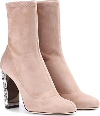 Bottines En Daim à Ornements 100 - NoirJimmy Choo London Hvp1F8Qwf