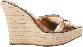 Deedee Mules Aus Veloursleder Mit Keilabsatz - Camel Jimmy Choo London kWUOD