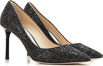 Zapatos de Tacón de Salón, Negro, Cuero Brillante, 2017, 36 36.5 37 38 39 Jimmy Choo London