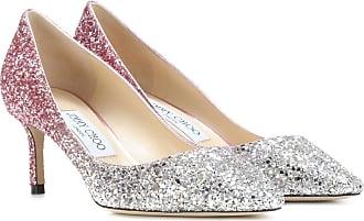 Zapatos Romy 60 de tacón alto y con purpurina Jimmy Choo London Quk30GqZyT