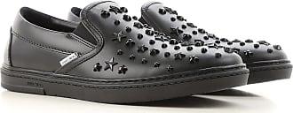 Slip on Sneakers for Men On Sale, Black, Leather, 2017, 10.5 7 7.5 8 8.5 9 9.5 Jimmy Choo London